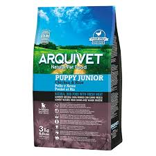 Arquivet Puppy Junior Pollo y Arroz 3 kg