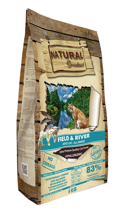 Receta Cat Field&River 600 gr