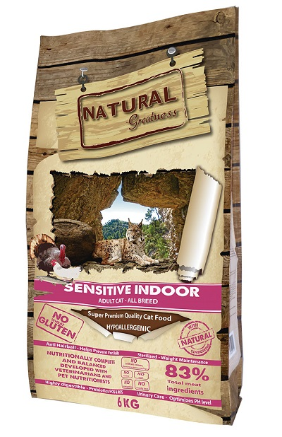 Receta Cat Sensitive Indoor 2 kg