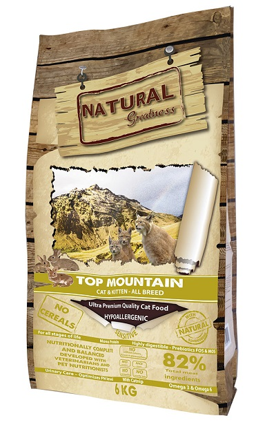 Receta Cat Top Mountain 600 gr