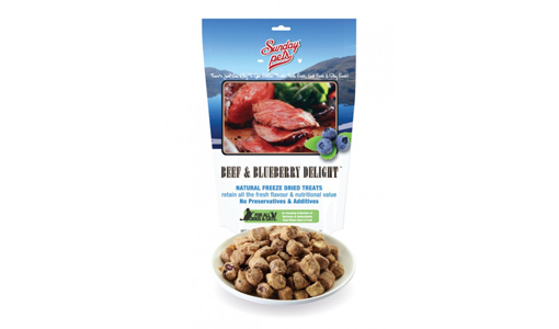 Sunday NZ Beef & Blueberry Delight Freeze Dried Treats 50 gr