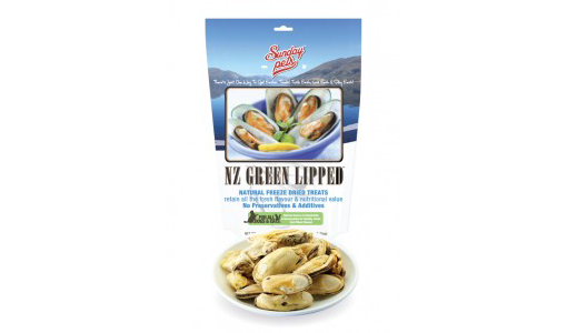 Sunday NZ Green Lipped Mussel 50 gr